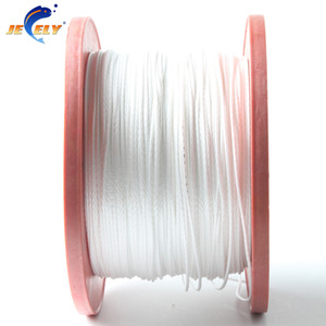 Free Shipping Extremely Strong 1.2mm 4 Strand Towing Winch Rope UHMWPE 350lbs 500M UHMWPE