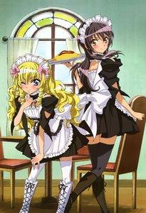 French Maid Cosplay Anime MAID LATTE Costume Cosplay nero vestito sexy per la festa di Halloween Abbigliamento femminile