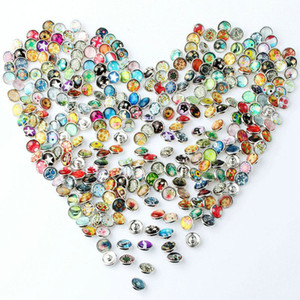 new whole 12mm small button sale 50pcs lot mix styles colors interchangeable ginger snap button charm snap jewelry freeship making jewelry m