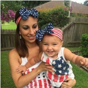 Niñas cabeza banda para el cabello bandera americana del aro del pelo accesorios para el cabello muchacha del aro de bebé bebé de los niños con clips arco niños grandes palos