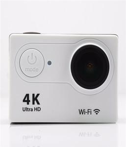 """Yeni Eylem Kamera Hd Pürüzsüz Sınırı Orijinal EKEN H9 H9R Ultra HD 4 K 25fps Uzaktan Wifi 2.0 """"LCD Su Geçirmez Pro Kask Kam Sualtı Spor"""