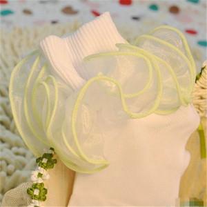 Nette Kind-Baby-Socken-Mädchen-Baumwollspitze-dreidimensionale Rüsche-Socken-Säuglingskleinkind-Kindersocken Weihnachtsgeschenke wholesale heißes neues