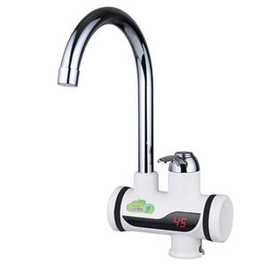 BD3000W-1, envío gratis, Pantalla Digital Grifo de agua caliente instantáneo, Grifo eléctrico sin tanque, Calentador de agua para grifo de cocina