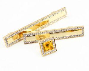 2pcs di lusso di cristallo dell'oro diamante Mobilio Ferramenta manopole cassetto armadio Armadi da cucina Credenza Credenza tira Accessori per porte