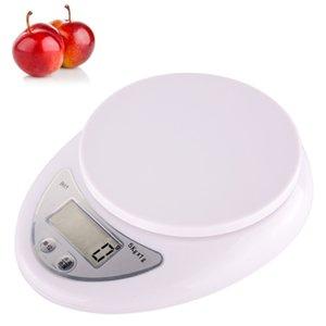 Fornecimento por atacado balança de cozinha eletrônica de precisão de cozinha doméstico escala de pesagem eletrônica 1g-5 kg balanças de cozimento de alimentos
