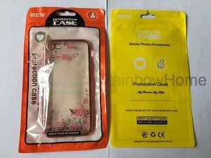 zip zipper bloqueio saco plástico Retail Package Box OPP saco para iPhone XS Max XR 8 Plus Samsung S8 S9 Telefone Leather Case Capa
