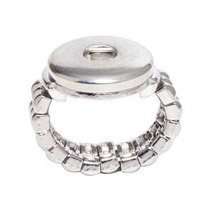 vente en gros boutons SR18-5 18mm sur les bijoux 10PCS / lot mode bouton élastique corde style bouton pression (bt-001 * 10) Livraison gratuite