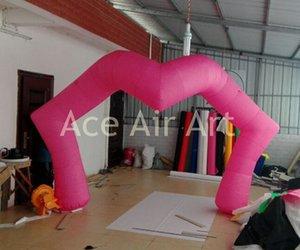 Boas decorações! Romântico Rosa Lip Inflatable Party For Arch e Dia dos Namorados decorações largura 5m, 3m H