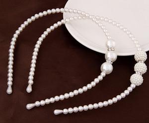 Accessori per capelli moda Perle simulate Perle per capelli Perlas Head Jewelry Hairband Barrette Hairwear Decoration