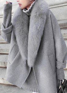 Baumwolle Baumwollmischung Langarm Andere Duffle Coats Winddicht Mäntel