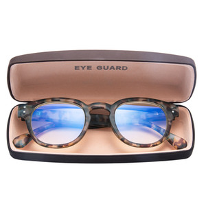 Anti Light Blue Anti Block Glare Juego de computadora Readig Gafas Lectores Unisex Demi