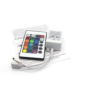 Edison2011 LED RGB Controlador DC12V 24 Chaves IR Controlador Remoto para SMD 3528 5050 RGB LED Luzes de Tira 100 pcs Livre DHL