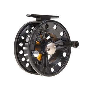 A liga de alumínio de WOB FB85 bobina o diâmetro do volante da pesca do lago 2 + 1BB: 85mm