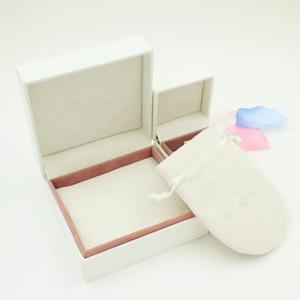 Contenitore di imballaggio dei monili compatibile con il logo Contenitore di monili della collana del regalo del braccialetto del braccialetto dei sacchetti delle borse dei gioielli