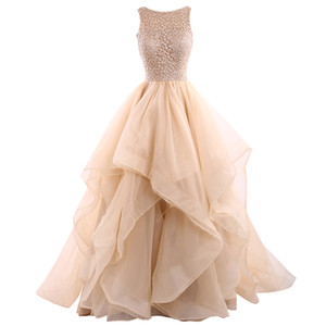 2018 New Design Spaghetti Ball Gown Homecoming Dress Popular Bridesmaid evening dress party dress long Prom gown