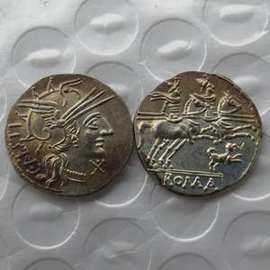 RM (24) Rom alte Denar -146 Kopie Münze Nizza Qualität Münzen Einzelhandel / Whole Sale Kostenloser Versand