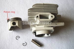 Silindir assy 50mm için Çin 1E50F-1 71CC 4.8HP 2 döngüsü toprak burgu ücretsiz kargo driller Silindir piston halka rebuild kiti