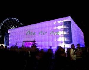 grande tenda gonfiabile del partito utilizzata commerciale all'aperto dell'evento del partito, stazione di evento con luce principale da vendere