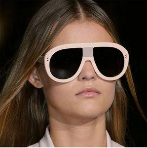 Новый урожай площадь Rimless солнцезащитные очки Женщины известный бренд дизайнер негабаритных солнцезащитные очки женский классический щит большой очки VE080
