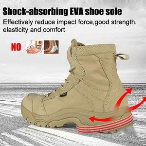 Soldato gratuito Sport da esterno Scarpe tattiche da campeggio Stivali da uomo per arrampicarsi Stivali da montagna leggera traspirante scarpe da trekking