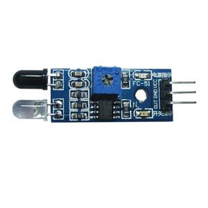 IR Módulo Sensor de Evitar Infravermelho Obstáculo para Arduino Robô Do Carro Inteligente B00107 BAR