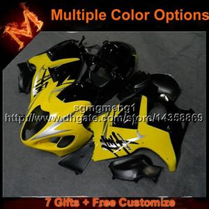 23colors+8Gifts YELLOW Motorcycle Bodywork Fairing for Suzuki GSXR1300 97-07 GSX R1300 1997-2007 97 07