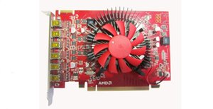 Brand New HIYA AMD Radeon R7 350 2G DDR5 128bit DirectX12 Graphic Card Video Card With 6 Mini DP Output Interface