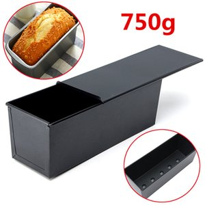 Rectangle Nonstick Boxes Cake Baking Pans New Large Loaf Tin Pastry Bread Bakeware Black Loaf Tin For Kitchen Tools