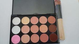15 colores corrector camuflaje paleta de maquillaje crema facial maquillaje corrector paleta maquillaje conjunto herramientas con pincel para salón fiesta