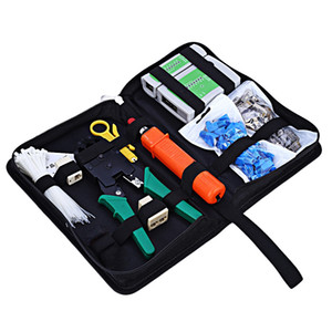 Portable Ethernet Netzwerk Tool Kabel Tester Kit RJ45 Crimp Stecker Crimpzange Set Anlege RJ11 Cat5 Cat6 Draht Linie Detektor