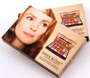 Miss Rose 24 colores Shimmer mate Paleta de sombra de ojos Sombra de ojos profesional Paleta de maquillaje Cosmética de ojos naturales