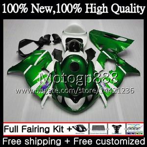 Cuerpo para SUZUKI TL 1000 R TL1000R 98 99 00 01 02 03 34PG10 TL1000 R Verde blanco TL 1000R 1998 1999 2000 2001 2002 2003 Carenado Carrocería