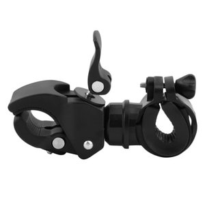 1 pc Universal Bicycle LED Torch Lamp Flashlight Mount Bracket Holder for 360 Degree Rotation New