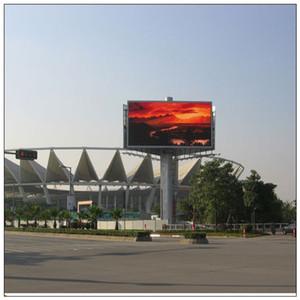 영웅 2017 P10 32 * 192의 화소 옥외 영상지도 된 전시 화면 풀 컬러 LED 표시 널, 사용 된 P10 방수 RGB 풀 컬러 모듈