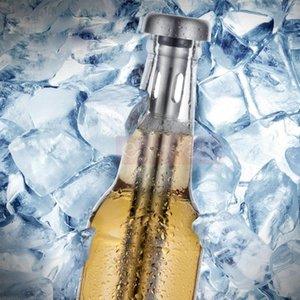 2 Stücke Set Durable Edelstahl Bier Rotwein Kühlstab Convinient Getränke Stick Nützliche Kühler Home Barware