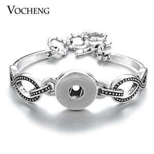 NOOSA gioielli intercambiabili Ginger Snap Bracelet 1-Snap da polso 18mm Button VOCHENG NN-440