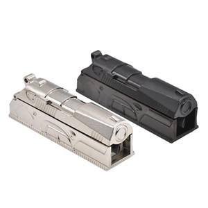 Heißer Verkauf 1x Anodized Pistole Regelmäßige Zigarette Rohr Injektor Roller Maker Tobacco Drehmaschine Kostenloser Versand
