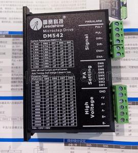 새로운 Leadshine Stepper Driver DM542 작동 24-50V 출력 1-4.2A nema 23 및 nema17 스텝퍼 모터 사용