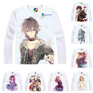 Anime Shirt AMNESIA T-Shirts Multi-Stil Langarm Shin Heroine Cosplay Motive Kawaii Shirts
