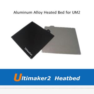 Alüminyum Alaşımı Yeni 3D Yazıcı Parçaları DIY UM2 Ultimaker 2 Isıtmalı Yatak yuvasıdır Isıtma Yatak