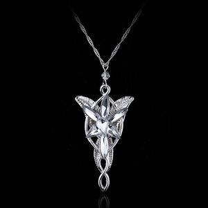 Nouvelle Mode Cristal Autrichien Pendentif Bijoux Twilight Star Princess Collier Le Seigneur Des Anneaux Assistant Princesse Pendentif De Mariage Colliers