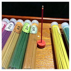 Wholesale- 1 Tube Floral Scent Incense Fragrance Sticks Candle Indoor Air Freshener Spices