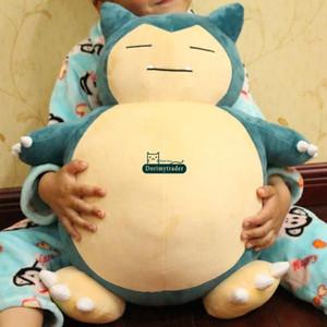 Dorimytrader 50cm Hot Japan Cartoon Snorlax Toy Plush Soft Big Anime Snorlax Doll Bebé Regalo de cumpleaños Envío Gratis DY61223