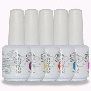 500pcs / lot di alta qualità Domcor Domcor Ultima lunghezza Soak Off LED UV Gel Smalto per unghie