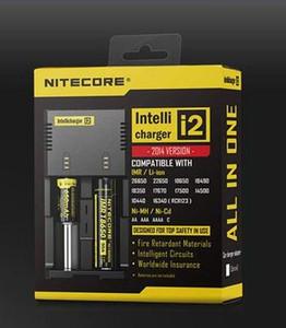 배터리 충전기 Nitecore I2 디지털 충전기 Universal Nitecore i2 충전기 VS Nitecore i2 D2 D4 UM10 UM20 좋은 품질