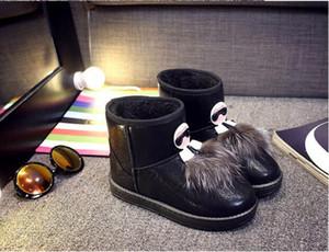 Новый стиль Monster Женщины Зимний снег Сапоги Лодыжки сапоги Теплые меховые туфли