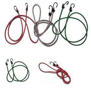 1.5m Stretch Elastic Bungee Cords Hooks lightweight Bikes Rope Tie Car Luggage Roof Rack Strap Hooks
