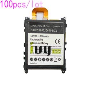 100pcs / lot 3300mAh LIS1525ERPC Batería de repuesto para Z1 L39H L39T L39U C6902 C6903 C6906 C6916 C6943 Baterías Batteria Batterie
