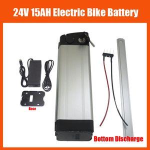 Нижняя батарея велосипеда батареи 24V 15ah лития разрядки 350W 24V электрическая с заряжателем BMS 29.4 V 2A