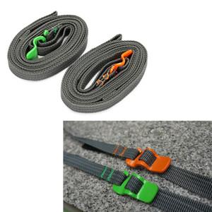 2.5M 8.2ft Multi-purpose Bagaglio da viaggio Valigia Bag Tent Bind Belt - Bagaglio pacchetto Pack Band Strap Rope - Outdoor Camp Hike